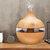 300 ml 7 luces nocturnas de color Oil Difusor Aromatherapy Cool niebla humidificador para estudio en casa de oficina Yoga Spa Baby USB de carga
