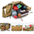 Hunting Multifunctional Tactical Running Multi-Purpose Bag Vest Waist Pouch Utility Pack