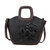 Women Leather Chinese Style Vintage  Embossed Handbag Shoulder Bag