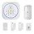 Digoo DG-MAS1 Nouveau 433 MHz sans fil GSM Kits pour systèmes d'alarme résidentiels bricolage IOS et Android APP sirène d'interphone