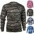 Tee-shirt camo de chasse camouflage à manches longues pour homme