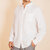 Mens Cotton Breathable Comfy Solid Color Button down Shirts
