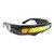 Futuristic Sunglasses Mirrored Narrow Lens Wrap Visor Robot Costume Wrap Glasses