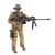 1/6 12inch Simulate Action Figure Soldier Doll RC Car Parts