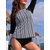Split Long-Sleeved Sun Protection Surf Suit Swimwear