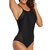 One-Piece Black Lace-Up Beauty Back Hollow Swimwear By Banggood