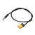 RJXHOBBY XT60 Male Bullet Connector to Male DC 5.5X 2.5mm DC5525 Rubber Power Cable for TS100 Electric Soldering Iron