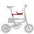Sièges de sécurité détachables de vélo de bébé de CMSBIKE siège avant de coussin de selle de chaise pour CMSBIKE mini F1 F12 F16