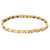 Fashion Magnetic Therapy Gold Chain Bracelet Zirconia Stainless Steel Bracelet For Women