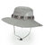 Men Breathable Cotton Wide Brimmed Bucket Hat Outdoor UV Resistence Fisherman Cap