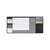XIAOMI Fizz Multifunctional Office Table Mat Weekly Planner Desk File Organizer Desk Table Storage Memo Mat Learning Pad Card Holder