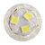 ZX E14 E12 5W Pure White Warm White 51LED Ceramics Corn Light Bulb for Replace Halogen AC110V AC220V