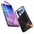 磁気吸着アルミ合金バンパー強化ガラスバックカバー保護ケース用SamsungギャラクシーS10 Plus