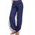 Pantalon sarouel décontracté à taille haute pour femmes, à la taille pure Yoga
