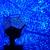 USB Dört Mevsim Yıldızı İnanılmaz Sky Açık Renk Değişebilir Kozmos Lazer Projektör Lamba Gece Işığı