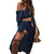 Women Long Sleeve Beach Solid Loose High Slit Shirt Dress