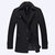 Autumn Winter Fashion Business Double Collar Casual Jacket Men's Wool Warm Jacket Long Trench Coat