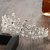 7cm High Large Adult Drip Crystal Wedding Bridal Party Pageant Prom Tiara Crown Hair Accessories