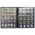 Collection de 250 porte-pièces Rangement Collectionner de l'argent Penny Pockets Album Livre Décor Decor