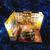 Diy casas de muñecas de madera kits en miniatura ensamblados luz sala de regalos con la cubierta
