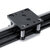 HANPOSE HPV4 Linear Guide Set Openbuilds Mini V Linear Actuator 100-500mm Linear Module with 17HS3401S Stepper Motor