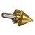 6 stks HSS Titanium Coated Stap Boor Met Center Punch Boor Set Gat Cutter Boor Tool