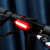 BIKIGHT COB LED 5 Modes Cycling Bicycle Warning Light IPX5 Waterproof USB Charging 360° Adjustable Bike Tail Light