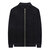 Men's Casual Brief Solid Color Classic Stand Collar Long Sleeve Zipper Up Warm Sweaters