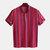 Mens Striped Vintage Ethnic Style Short Sleeve Short Shirts Tops