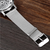 SOXY Fashion Silver Men Quartz Watch Casual Carving Dial Watch