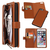 Multifunctional Detachable Card Slots Wallet Magnetic PU Leather Case for iPhone 6&6s