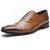 Hombres Formal Vestido Zapatos Casual Business Piel Genuina Oxfords