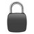 P3+ Smart Fingerprint Bluetooth Anti-theft Security Rechargeable Luggage Home Electronic Door Lock Padlock iOS Android APP Lock