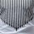 Men's Vertical Stripe Printed Long Sleeve Bottoming T-Shirts Casual Round Neck Pullover Tops