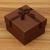 내구성 사각형 모양의 선물 종이 커피 상자 쥬얼리 시계 상자 베개와 포장