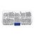 Suleve™ M3NH6 300Pcs M3 Nylon Screw White&Black Hex Screw Nut PCB Standoff Spacer Assortment Kit