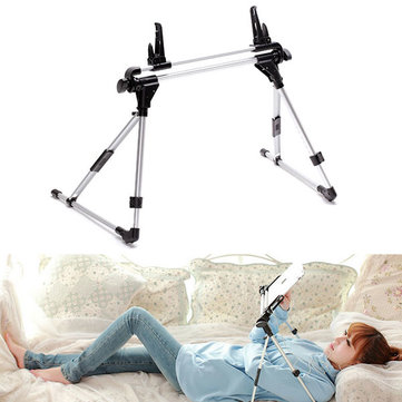 Foldable Bed Desk Floor Tablet PC Mount Stand Holder For Tablet