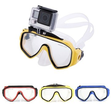 Diving Mask Scuba Goggles Mount Accessory for GoPro Hero 4 3 2