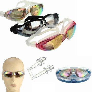 Анти Противотуманные плавательные очки Водонепроницаемы Плавание Очки Защита Uv