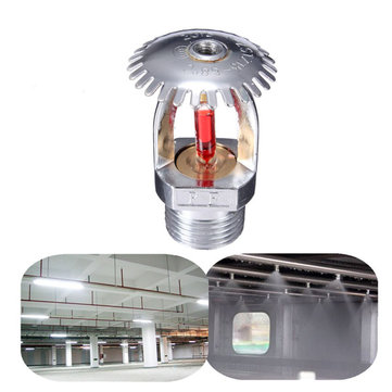 1/2 Inch 68℃ Upright Fire Sprinkler Head For Fire Extinguishing System Protection