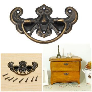 Vintage Zinc Alloy Cabinet Kitchen Closet Cupboard Drawer Door Handle Pull Knobs