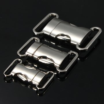 Metal Quick Release Buckle For Paracord Survival Bracelet Zinc Alloy 22mm/28mm/30mm