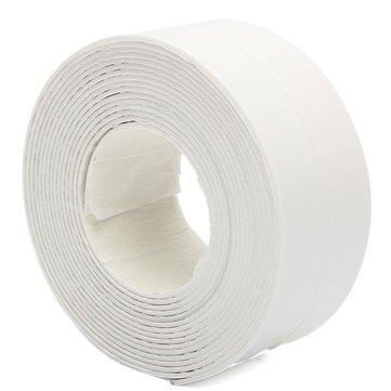 3.8X335cm Bath Sink Wall Seal Ring Strip Self-adhesive Tape Waterproof Mildew Proof