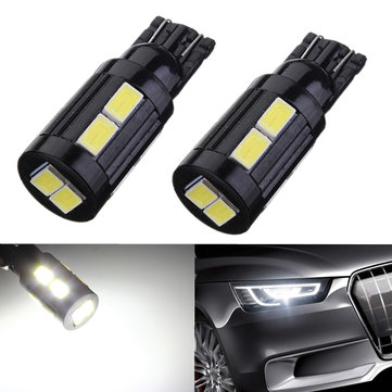 2 x T10 168 194 W5W 10 SMD 5730 LED Xenon Turn Tail Light Bulbs
