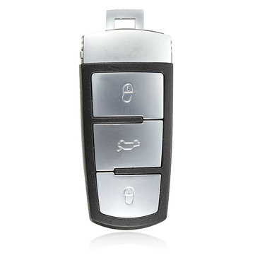 3 Button Remote Key FOB Replacement Case Shell For Volkswagen