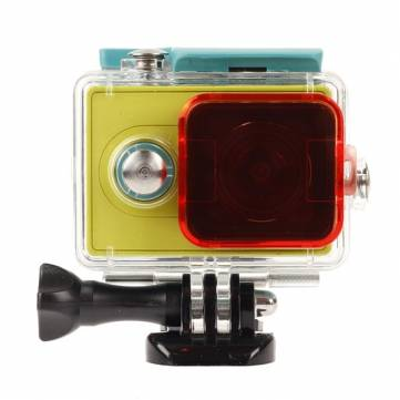 Polarizer Under Water Dive Lens Filter For Xiaomi Yi Action Camera