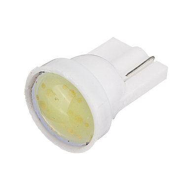Car White 1 LED COB SMD T10 W5W Wedge Side Light Bulb Lamp