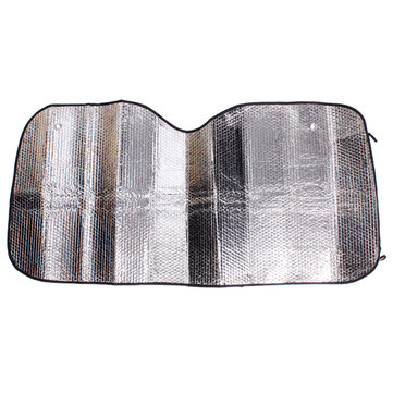 Car Landscape Front Wind Shield Aluminum Foil Sun Shade130*60cm