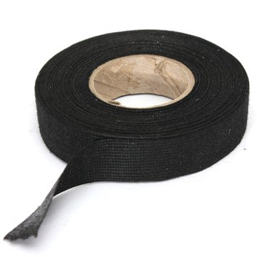 19mm x 15M Heat Temperature Resistant Looms Wiring Fabric Cable Tape