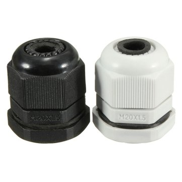 M20x1.5 IP68 Thread Compressio Stuffing Cable Gland Locknut